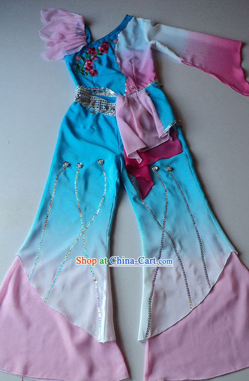 Beautiful Fan Dancing Suit for Women