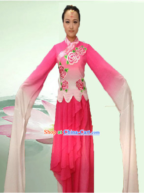 Professional Guzhuang Water Sleeve Dance Costumes