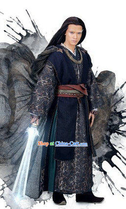 the Journey of Flower TV Drama Male Demon Costumes Complete Set for Men