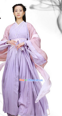 the Journey of Flower TV Drama Female Immortal Being Costumes Complete Set for Women