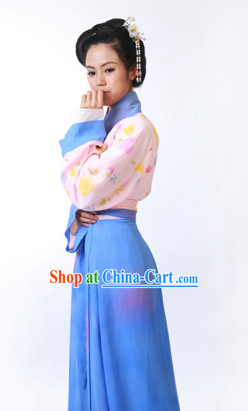 FINE CHINESE CLOTHING  Women Han Fu/Hanfu Clothing