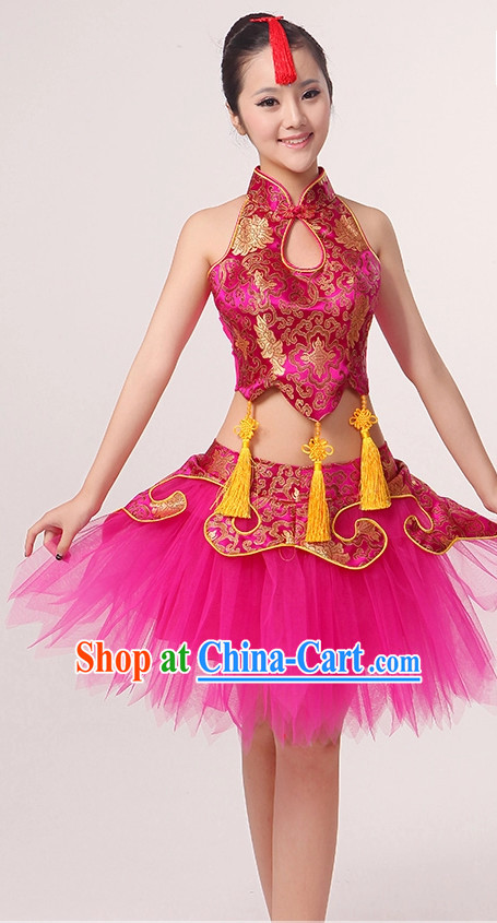 Chinese Drum Girls Dancewear