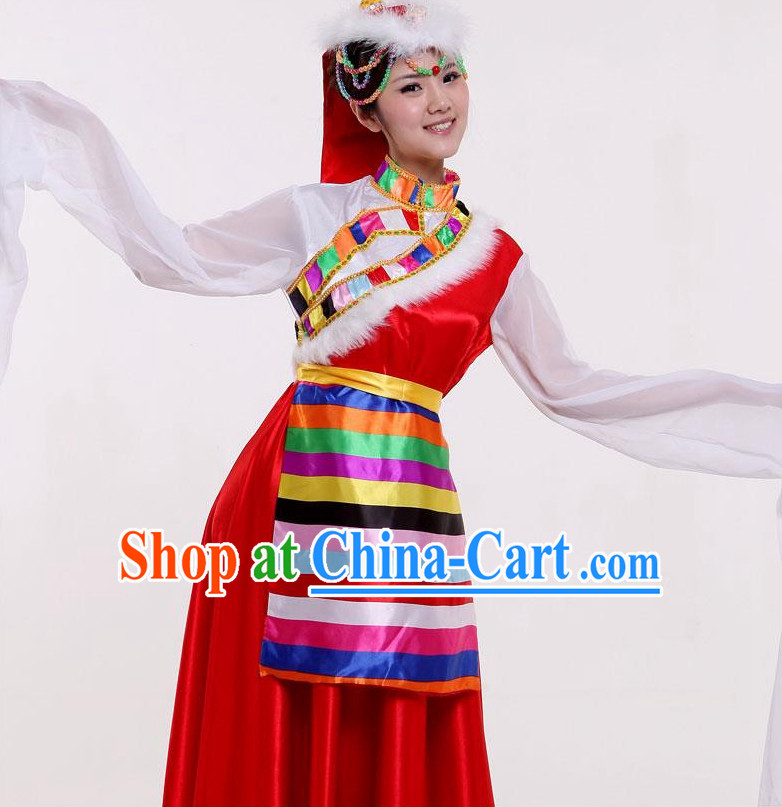 Top China Tibetan Dancewear and Hat