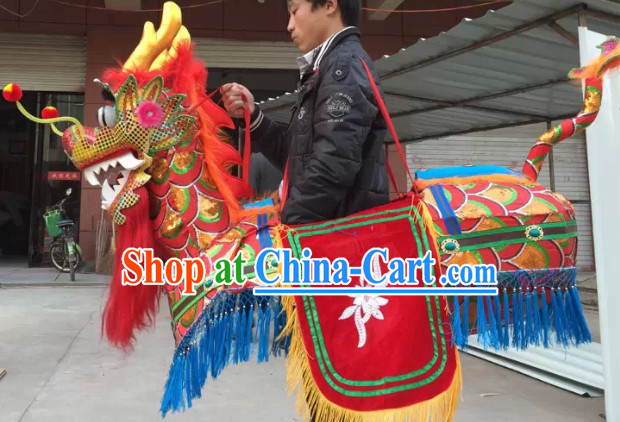 Chinese New Year Parade Dragon Lantern Boat Equipment