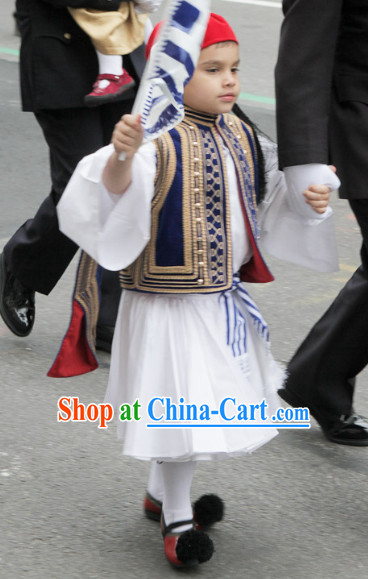 Traditional Greek Tsolias Costumes for Boys