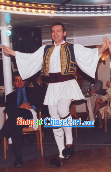 Traditional Greek Dance Costumes Shop Male Complete Set