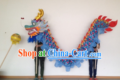 Chinese New Year Parade Dragon Dance Equipments Complete Set for Kids