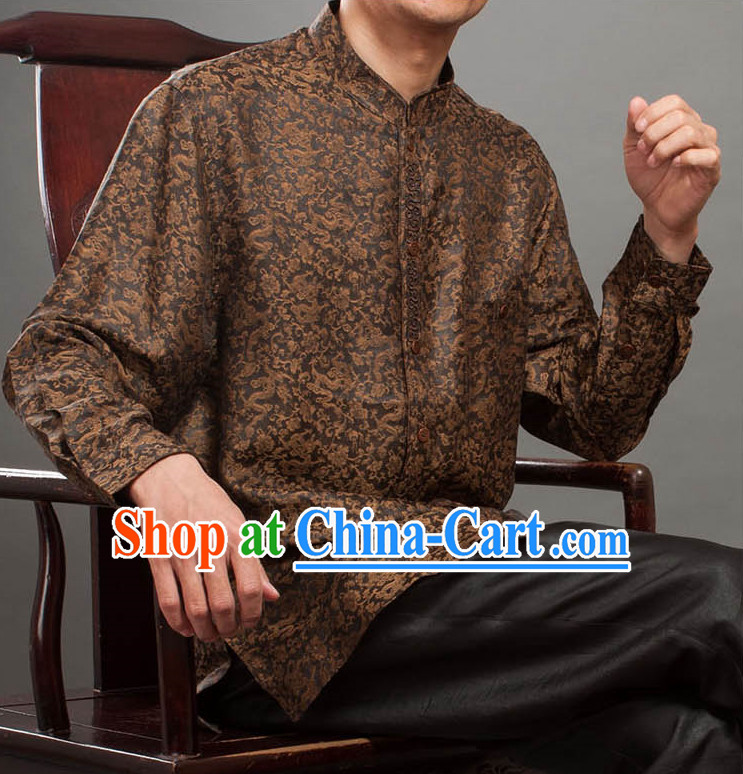 Supreme Silk Traditional Dragon Blouse