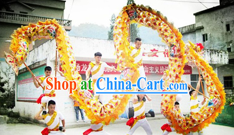 Peking Olympic Gmaes National Dragon Dance Equipment Complete Set