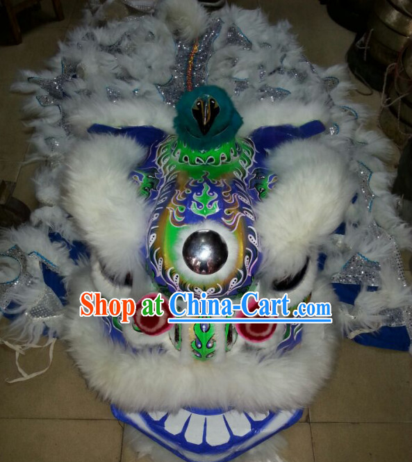 Top Chinese Spring Festival Celebration Lion Dance Costume Complete Set