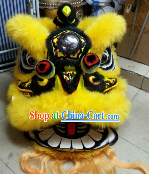 Top Chinese Lunar New Year Celebration Lion Dance Costume Complete Set