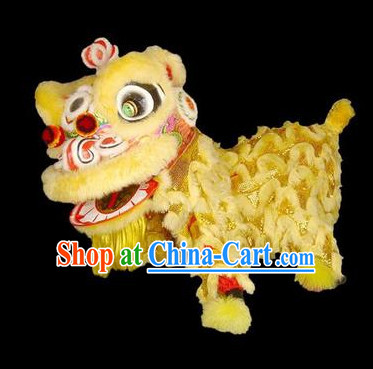 Chinese New Year Lion Dancing Costume Complete Set