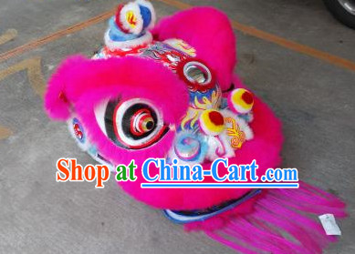 Lion Dance Head Costumes Complete Set