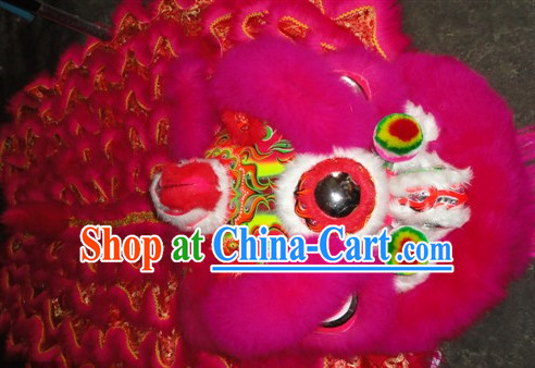 Chinese Festival Celebration Lion Costumes Complete Set