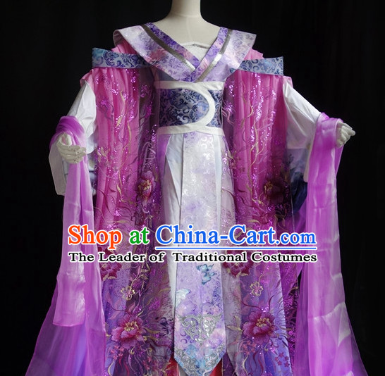 Chinese Halloween Costumes Fairy Empress Queen Princess Costume Complete Set