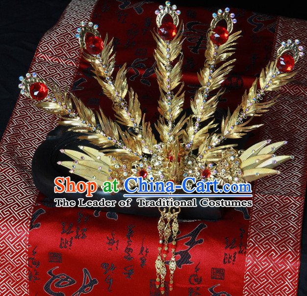 Chinese Ancient Phoenix Hairpieces Hair Accessories Hair Pieces