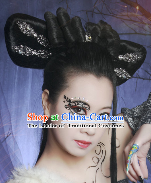 Chinese Ancient Palace Fairy Lady Wigs