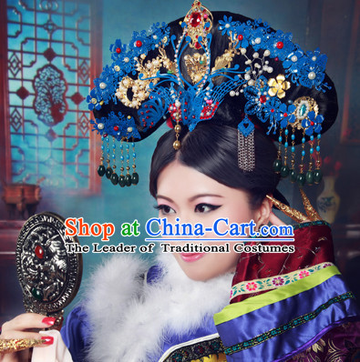 Chinese Qing Empress Hair Decorations Hair Jewelry