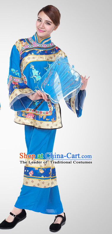 Chinese Folk Mandarin Dance Costume Wholesale Clothing Group Dance Costumes Dancewear Supply for Women