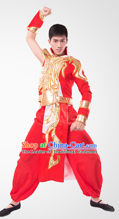 Chinese Folk Mongolia Dance Costume Wholesale Clothing Group Dance Costumes Dancewear Supply for Men