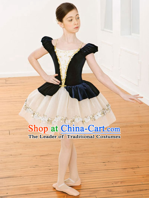 Girls Tutu Ballet Costumes Tutus Tu Tu Dancing Costumes Dancewear Dance Supply Free Custom Tailored Service for Children
