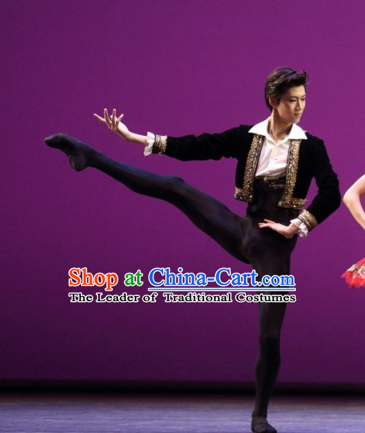 Ballet Costume Dance Costumes Dancewear Dance Supply Free Custom Tailored for Men