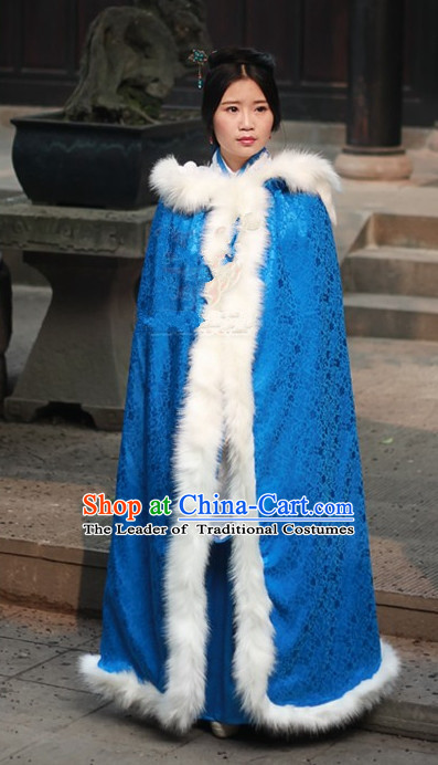 Ancient Chinese Costumes Free Custom Tailored Tang Dynasty Mantle Costume for Women