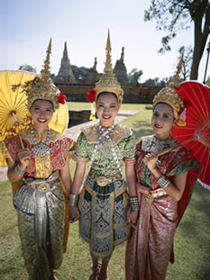 Traditional Thailand Costumes