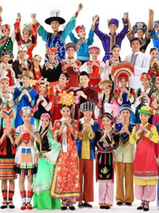 Chinese Ethnic Costumes