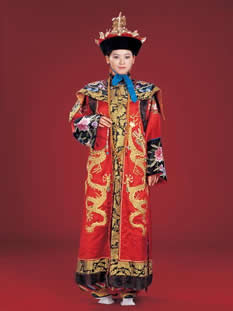 Manchu Minority Clothing & Dance Costumes