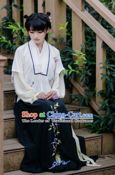 China Ming Dynasty Clothing Ancient Chinese Costume Men Women Costumes Kids Garment Clothes for Women