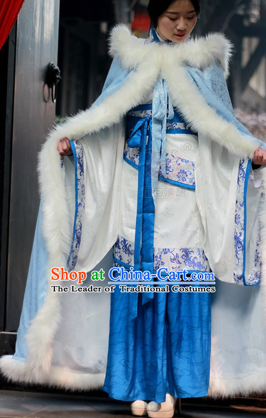 China Ming Dynasty Clothing Ancient Chinese Costume Men Women Costumes Kids Garment Clothes Cape for Women