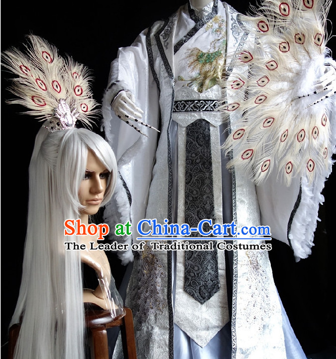 Chinese Classic Costume Cosplay Complete Set for Men