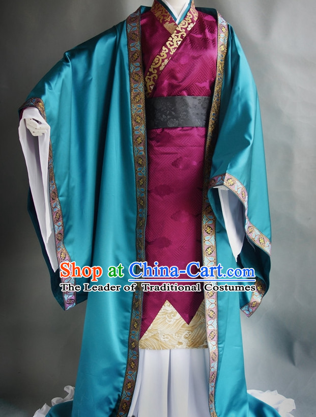Chinese Classic Prince Costume Cosplay Complete Set for Men