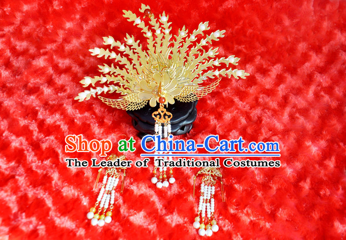 Chinese Handmade Imperial Phoenix Hair Accessories for Women