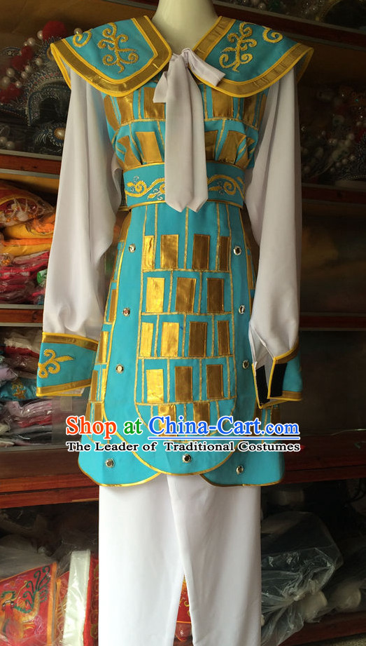 Chinese Opera Armor Wear Costume Traditions Culture Dress Kimono Chinese Beijing Clothing for Women