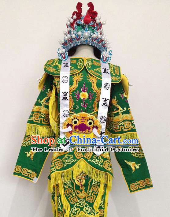 Chinese Opera Classic Embroidered Armor Costumes Chinese Costume Dress Wear Outfits Suits for Women