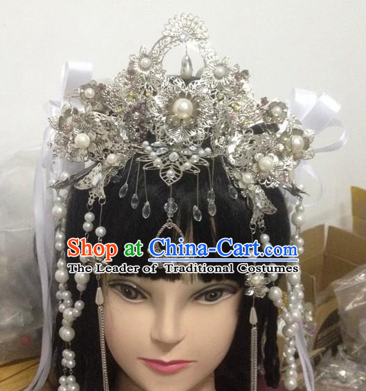 Chinese Classic Cosplay Princess Crown Headwear Headipieces Hair Accessories Hair Jewelry