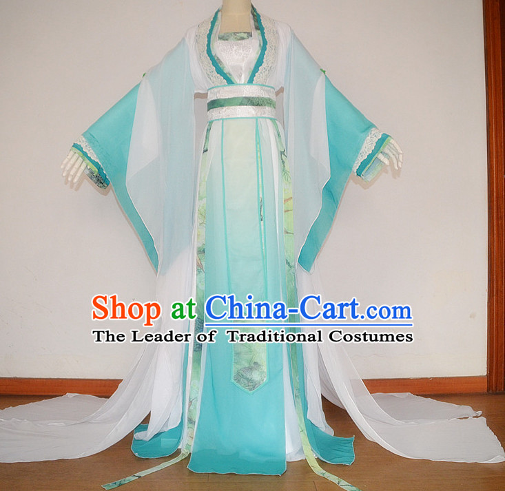 Chinese Costume Ancient Dress Classic Garment Suits Imperial Princess Queen Emperor Clothing for Women