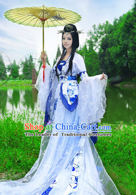 Chinese Costume Ancient Dress Classic Garment Suits Imperial Princess Queen Emperor Clothing