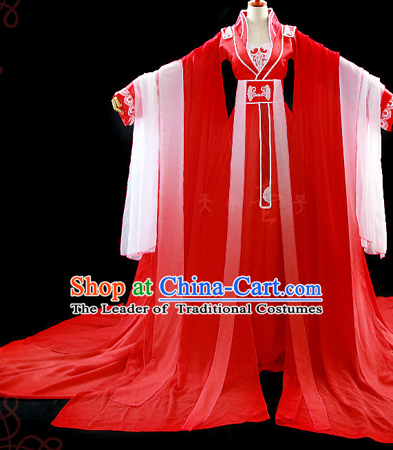 Chinese Costume Ancient Dress Classic Garment Suits Imperial Empress and Princess Clothes Clothing for Women
