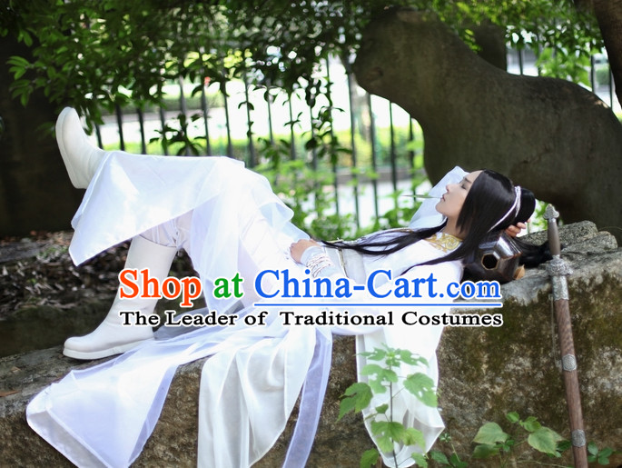 Chinese Classic Swordsman Costumes Hanfu Clothing Shop Online Dress Wholesale Cheap Clothes Wear China online for Women