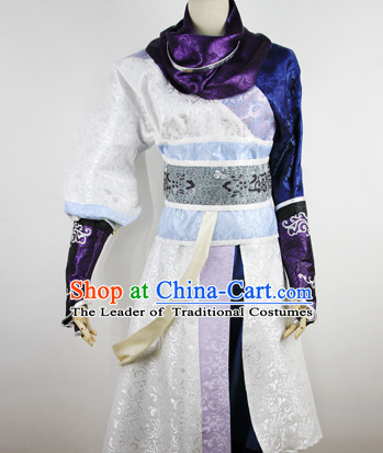 Ancient Asian Chinese Japenese Korean Knight Cosplay Costumes for Men