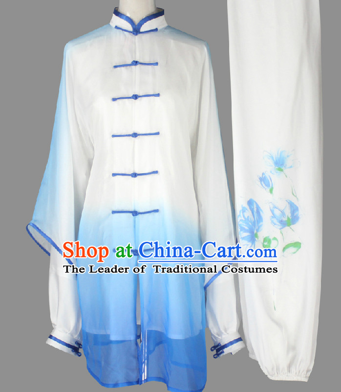 Top Wing Chun Uniform Martial Arts Supplies Supply Karate Gear Tai Chi Uniforms Clothing and Veil for Women or Men
