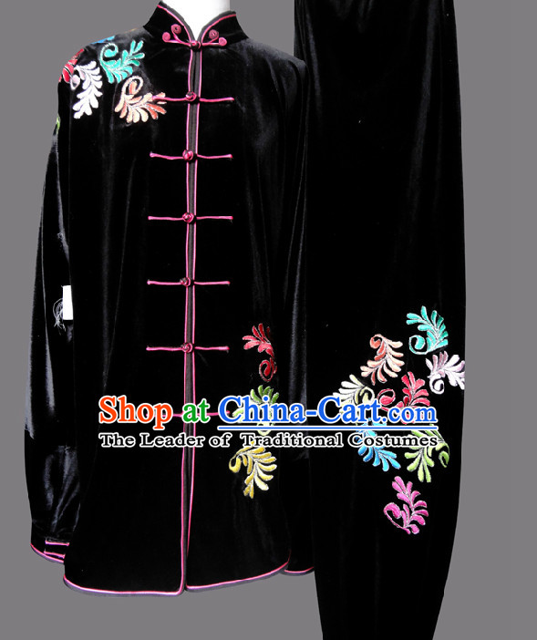 Top Wing Chun Uniform Martial Arts Supplies Supply Karate Gear Tai Chi Uniforms Clothing for Women