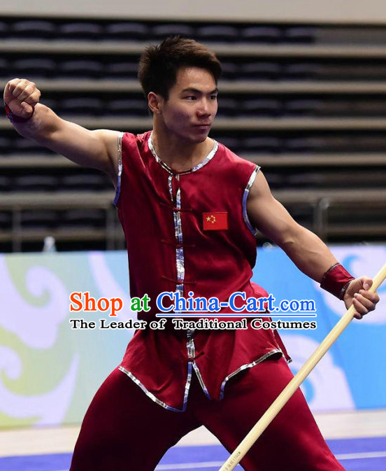 Southern Fist Nanquan Kung Fu Outfit Jacket Pants Supplies Custom Dance Costumes Outfits Clothing for Men Women Kids Boys Girls
