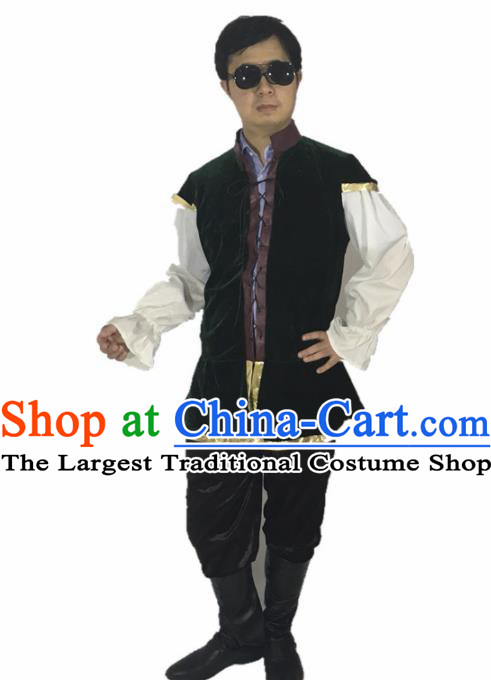 Ancient Medieval Costumes England's King Kids Adults Costume for Men and Boys