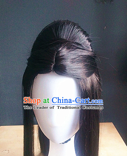 Ancient Chinese Fairy Wigs Toupee Wigs Human Hair Wigs Hair Extensions Sisters Weave Cosplay Wigs Lace Hair Pieces and Accessories for Women