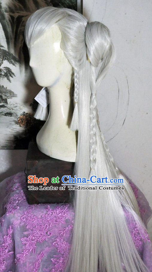 Chinese Long Wig Hair Extensions Real Wigs Toupee Full Lace Front Wigs Weave Pieces for Women