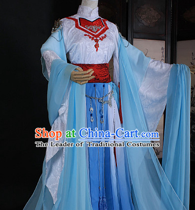 Chinese Classic Hanfu Garment Dress Costumes Japanese Korean Asian King Clothing Costume Dress Adults Cosplay for Women